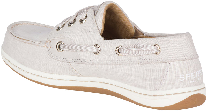 Women's Bluefish Linen Boat Grey