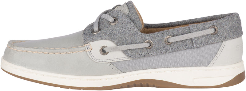 Sperry Women's Bluefish Wool Boat Shoe Smoked Pearl