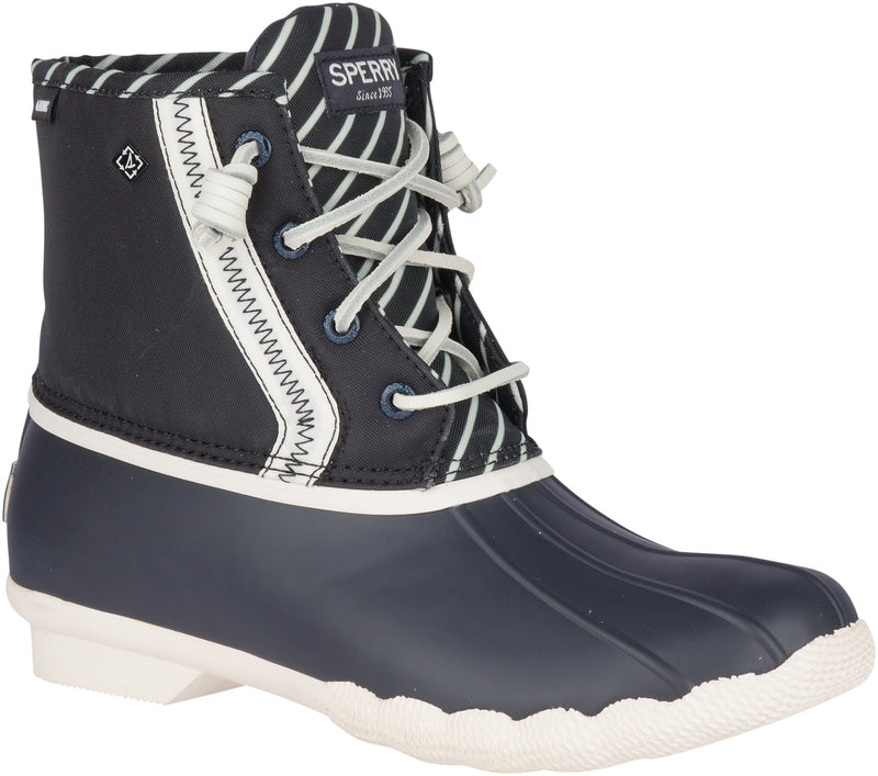 Sperry Women's Saltwater BIONIC Duck Boots Dark Navy