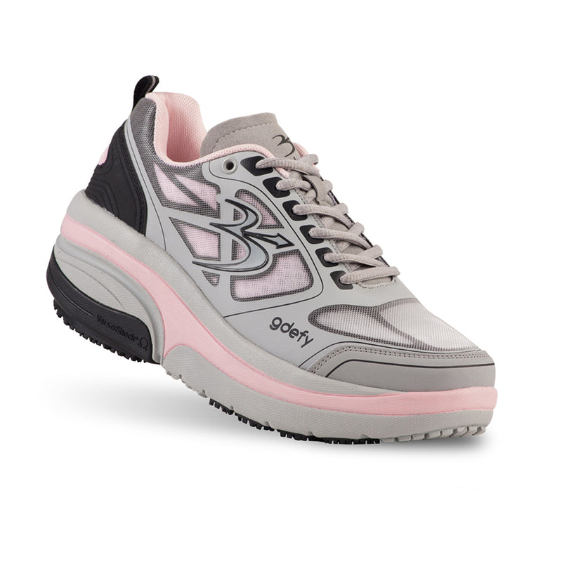 Gravity Defyer Women's G-Defy Ion Gray and Pink