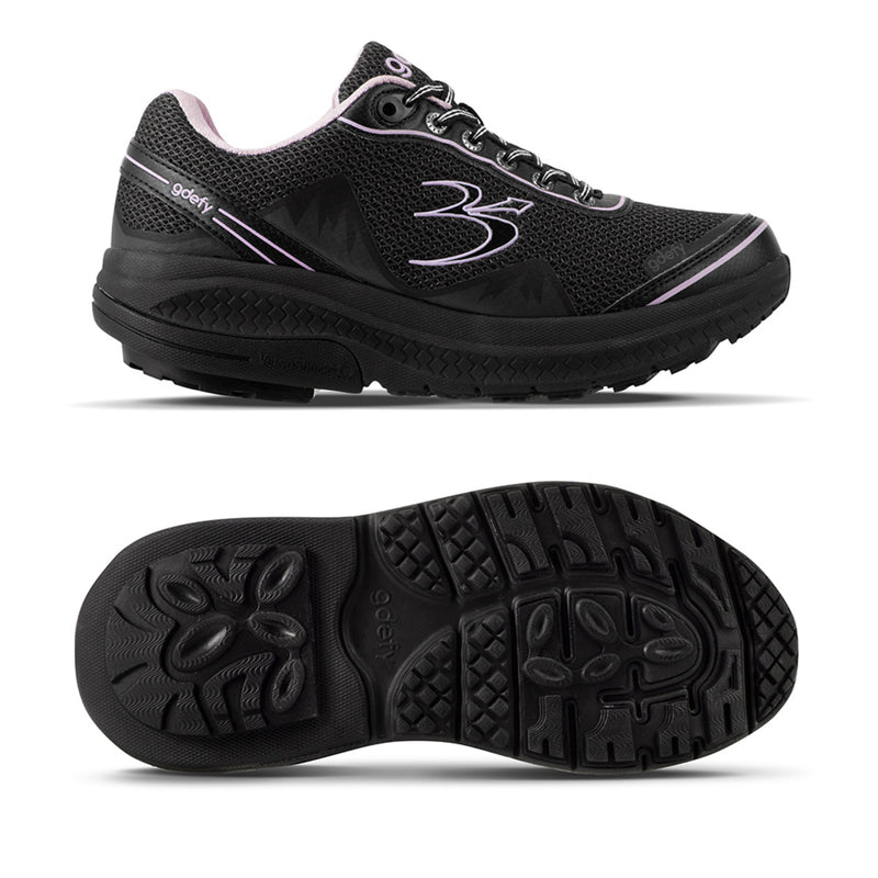 Gravity Defyer Women's G-Defy Mighty Walk Black/Purple