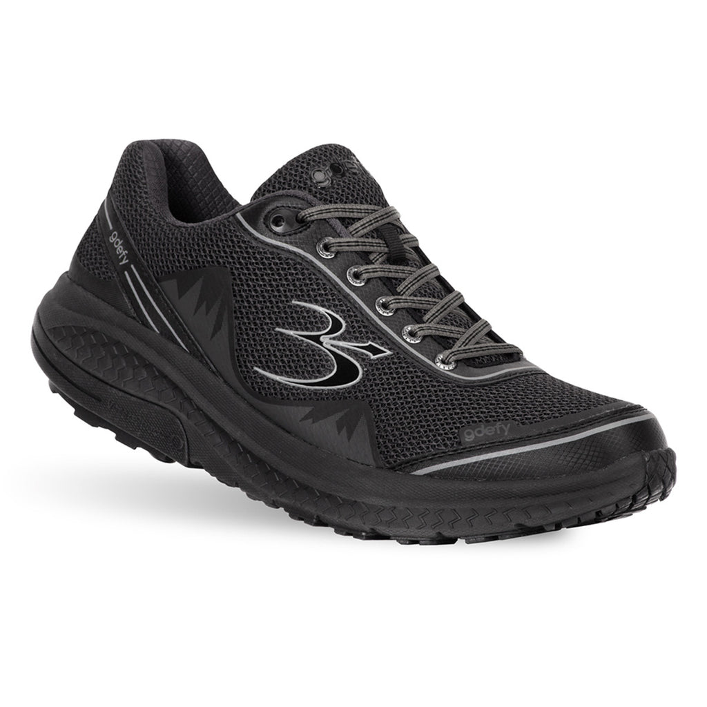 Gravity Defyer Men's G-Defy Mighty Walk Black Wide