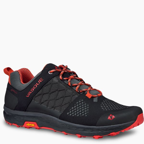 Vasque Men's Breeze LT Low GTX Hiking Shoe Black/Orange