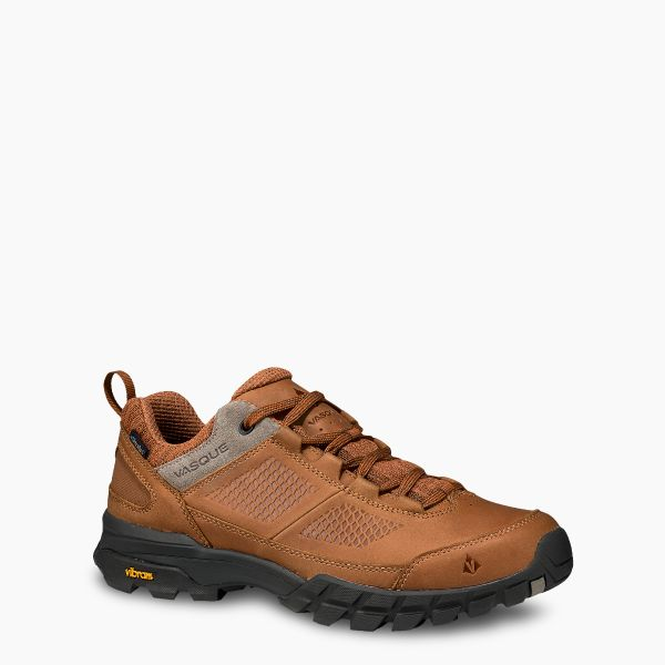 Vasque Men's Talus AT Low UltraDry Waterproof Glazed Ginger/Brindle