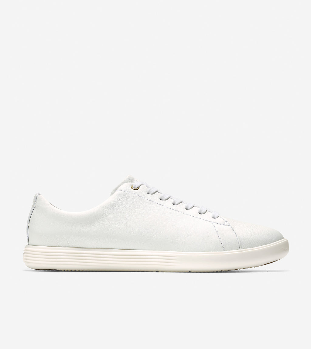 Cole Haan Women's Grand Cross Court Optic White Leather