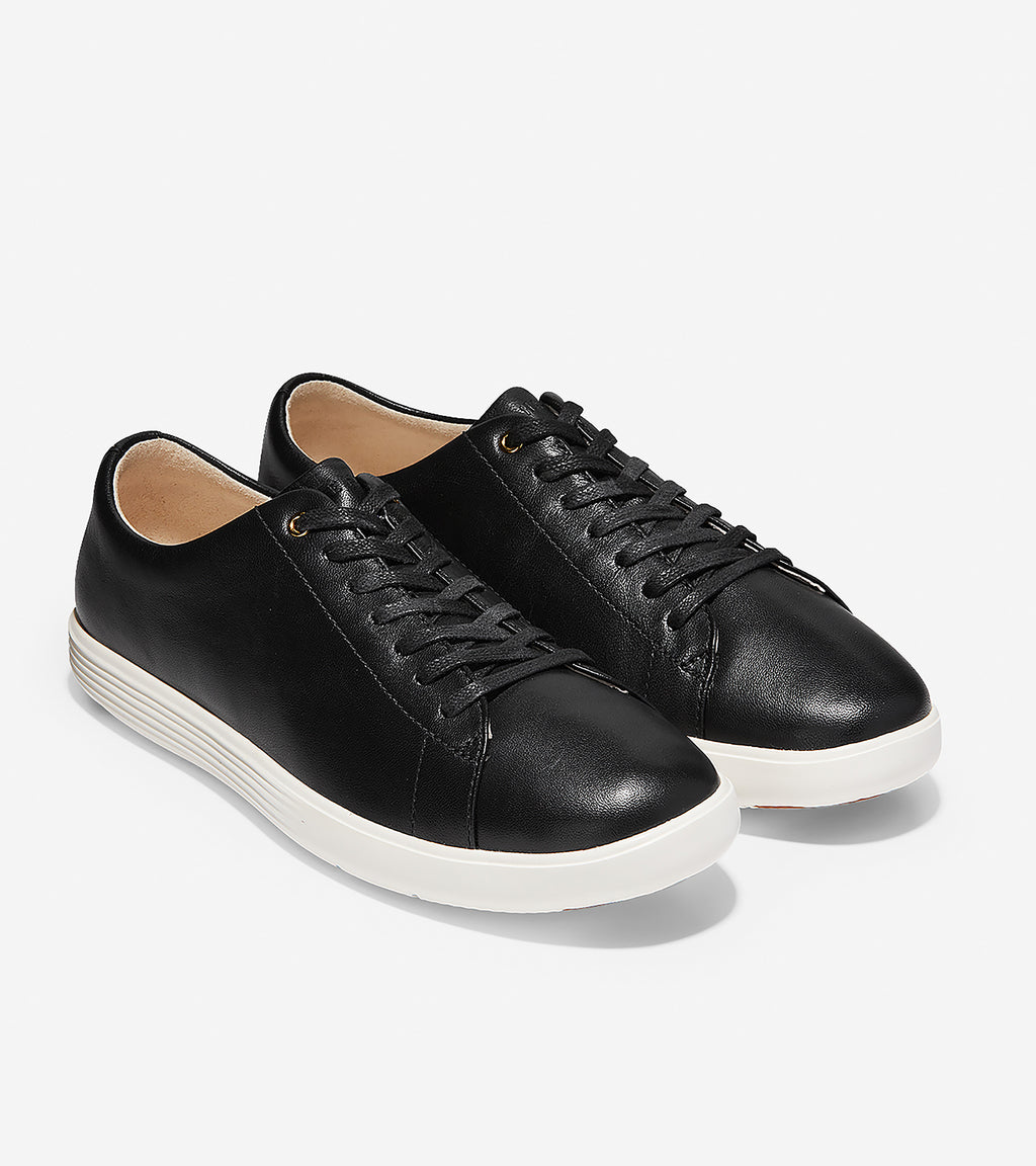Cole Haan Women's Grand Cross Court Black/White