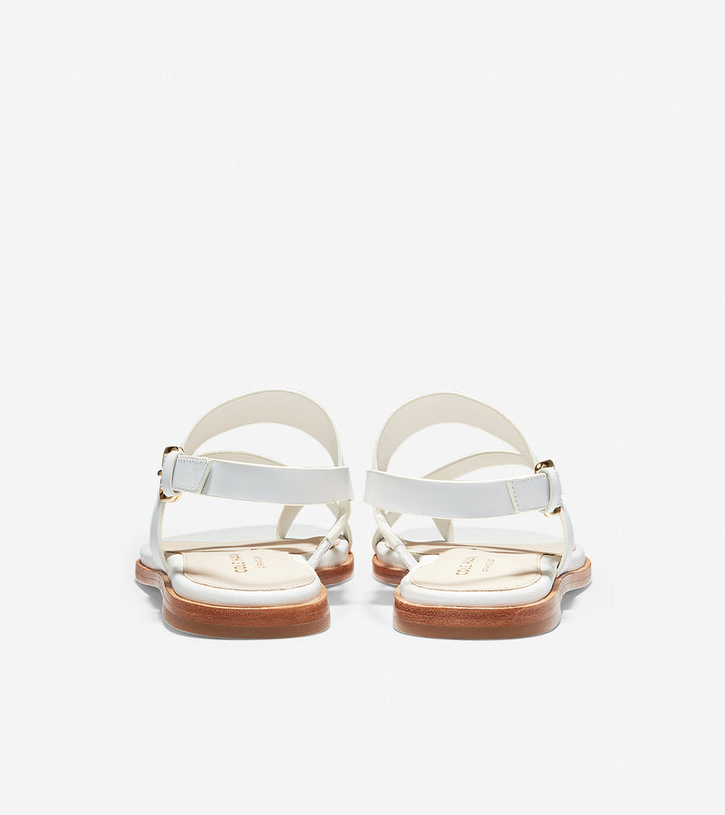 Cole Haan Women's Anica Thong Sandal White