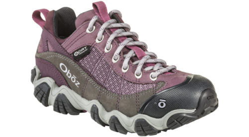 Oboz Women's Firebrand II Low Waterproof Lilac
