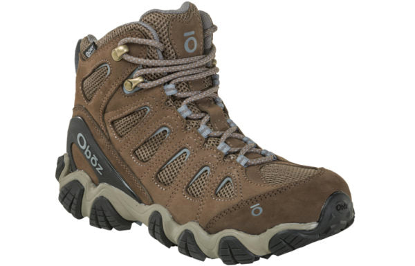 Oboz Women's Sawtooth II Mid Waterproof Brindle/Tradewinds Blue