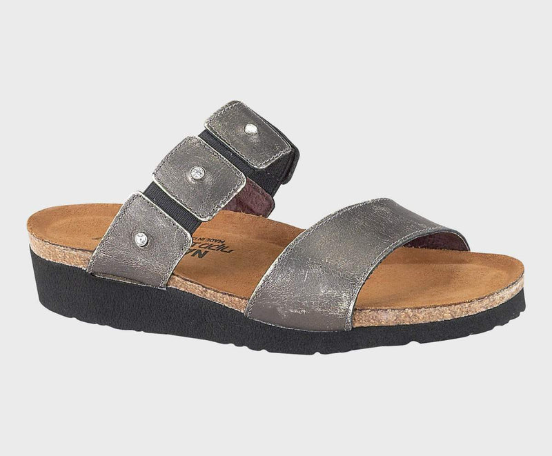 Naot Women's Ashley Sandals Metal Leather
