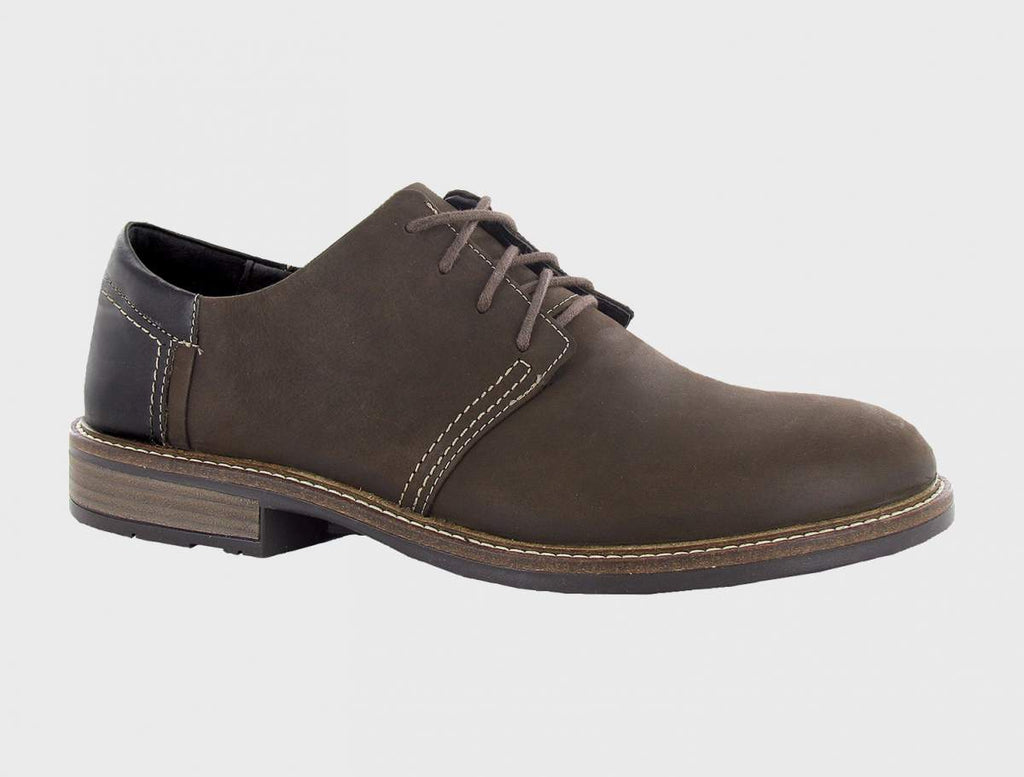 Naot Men's Chief Oily Brown/French Roast
