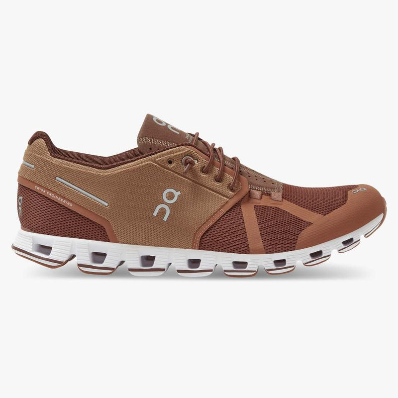 On Men's Cloud Russet/Cocoa