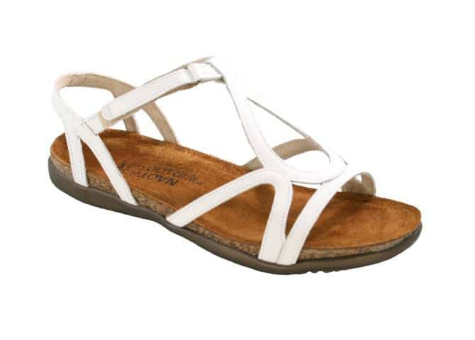 Naot Dorith Women's Sandal White Leather