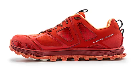 Altra Women's Lone Peak 4.5 Poppy Red