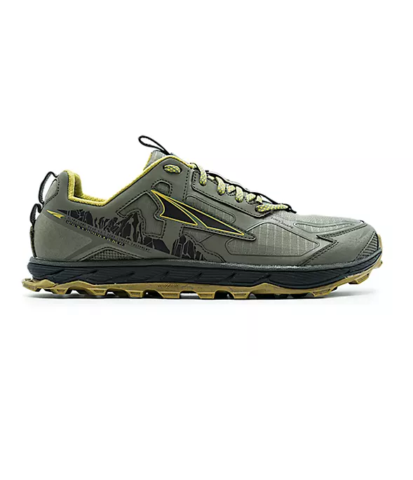Altra Men's Lone Peak 4.5 Olive/Willow