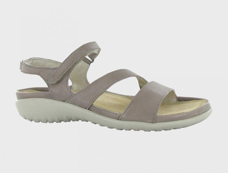 Naot Women's Etera Sandals Latte Brown Leather