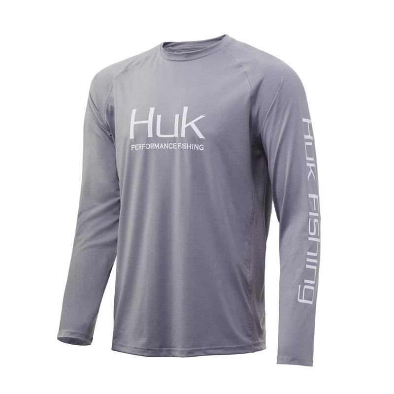 Huk Icon X Long Sleeve Shirt White