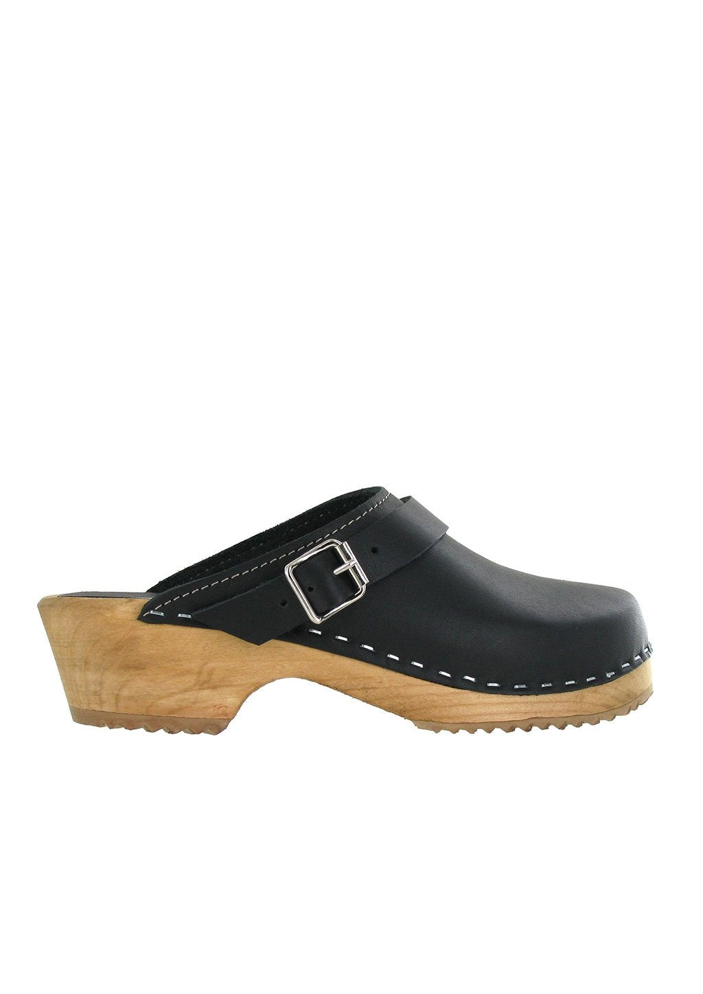 Mia Women's Alma Clog Black leather