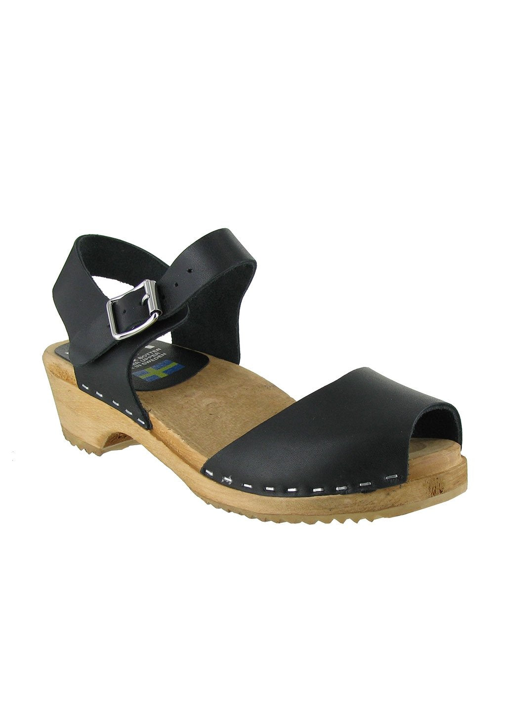Mia Women's Anja Clog Black Leather