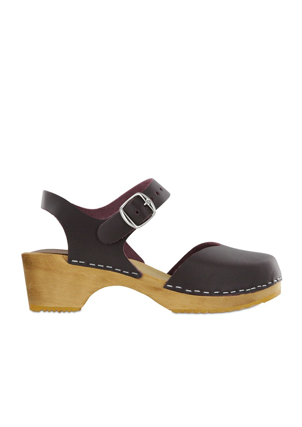 Mia Women's Sofia Sandal Wine Leather