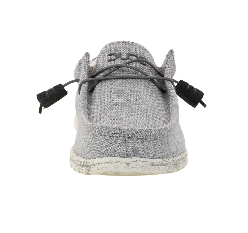 Hey Dude Wally Woven Men's Grey White