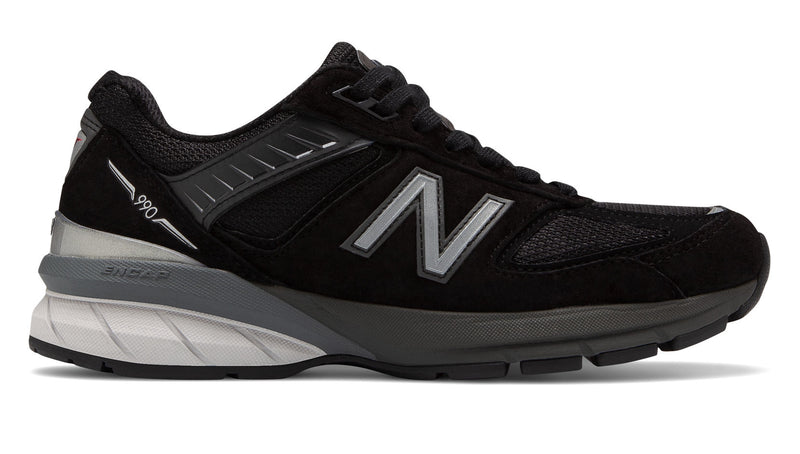 New Balance Women's Made in US 990v5 Black/Silver