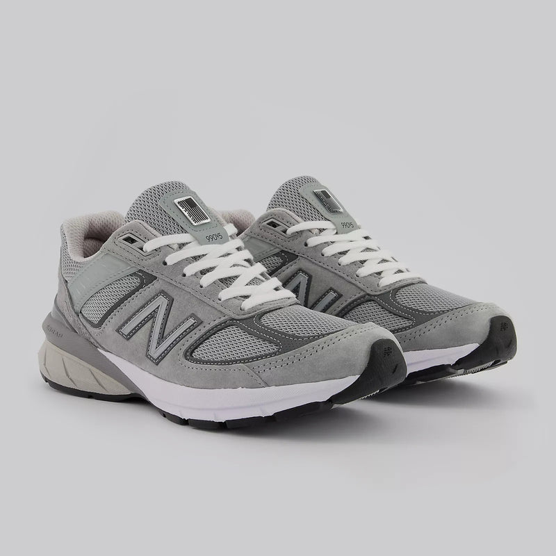 New Balance Women's Made in US 990v5 Grey/Castlerock