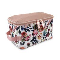 Itzy Ritzy Blush Floral Packing Cubes - ArtistiKIDly Me  As I Am