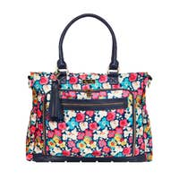 Pre Order Itzy Ritzy Posy Pop Tribe Tote Diaper Bag - ArtistiKIDly Me  As I Am
