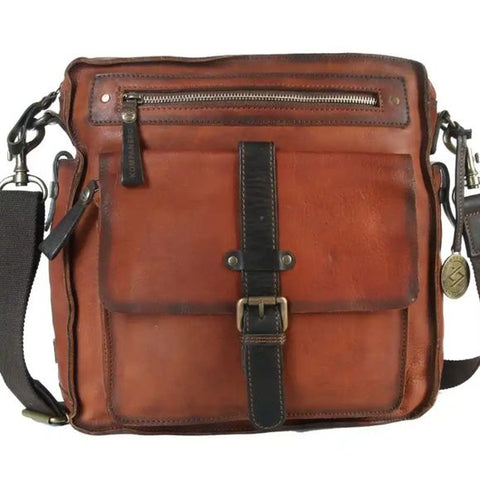 kompanero unisex leather messenger bag - ArtistiKIDly Me  As I Am