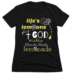Woman Fitted - Life's Lemon - ArtistiKIDly Me  As I Am