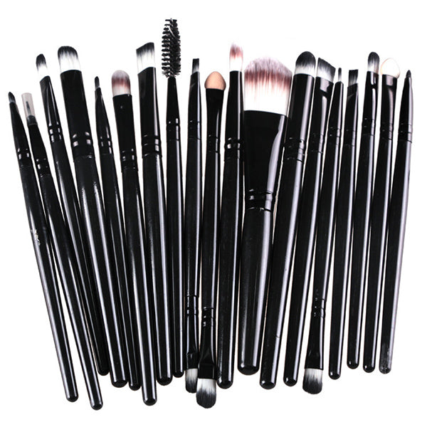 20PCS Professional Makeup Brushes Set Powder Foundation Eyeshadow Make Up Brushes Beauty Cosmetics Soft Hair Makeup Brushes Kit