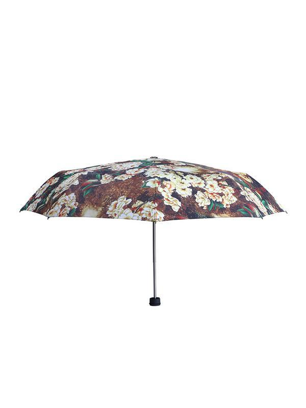 Flower&Bird Painting Pattern Folding Umbrella