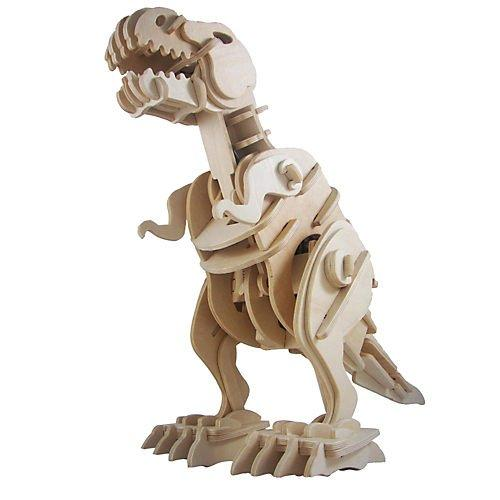 F&S 3D Wooden Robotic Puzzle T-Rex, Medium