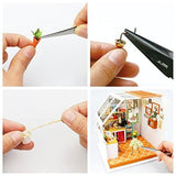 F&S Exquisite DIY House Miniature Dollhouse Kits Kitchen Room Birthday Gifts for Boyfriend & Girlfriend
