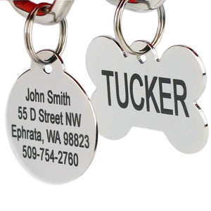 Personalized Stainless Steel Pet Id Tag