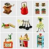F&S Green House Building - DIY Miniature Dollhouse Accessories - Dolls House Furniture, Renovation kits with LED Light - Creative Toys