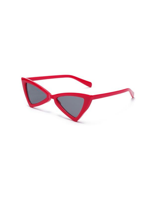 Triangle Cat Eye Frame Sunglasses