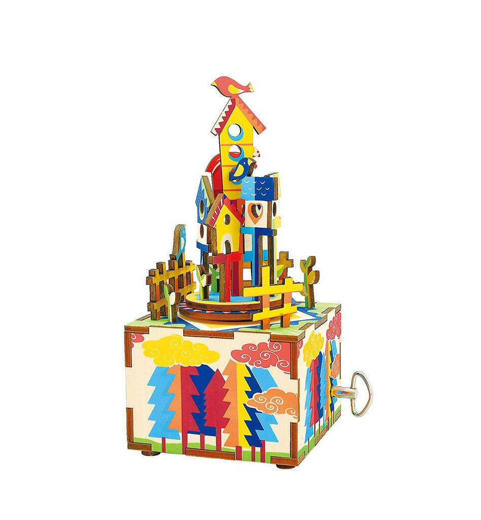 F&S Castle in The Sky 3D Wooden Music Box Kit