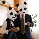DIY Panda Creative Paper Mask