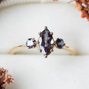 Fashionable Antique Mary Alexander Engagement Ring