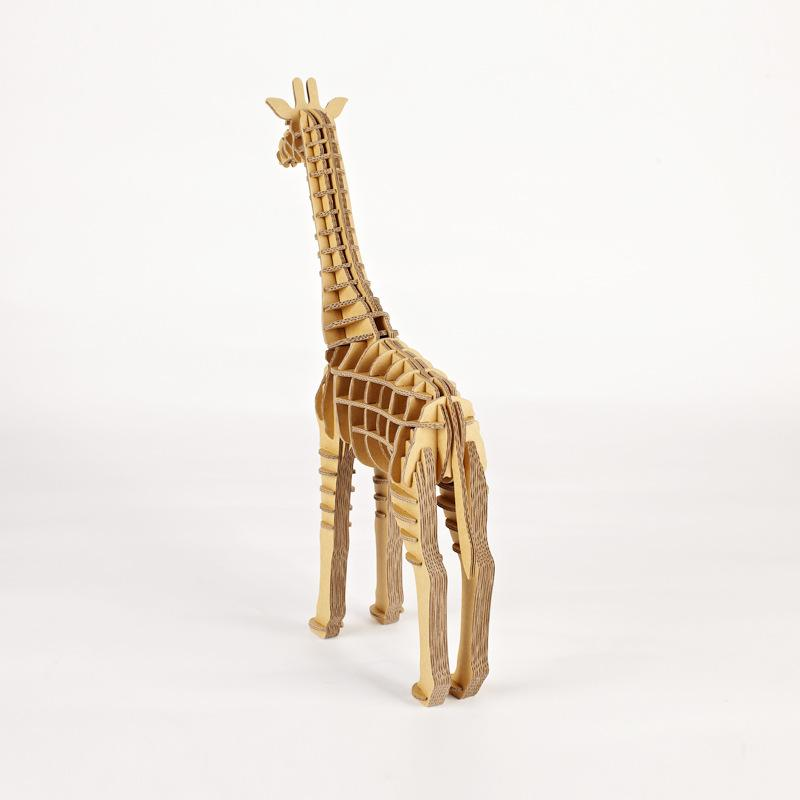 DIY Giraffe Paper Crafts Decoration