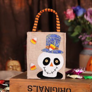 Forsweetheart Halloween decorations children's gifts candy bags creative ghosts props sugar bags handbags