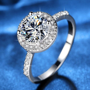 Cubic Zirconia Fashion Rings  For Women Wedding Fashion Jewelry