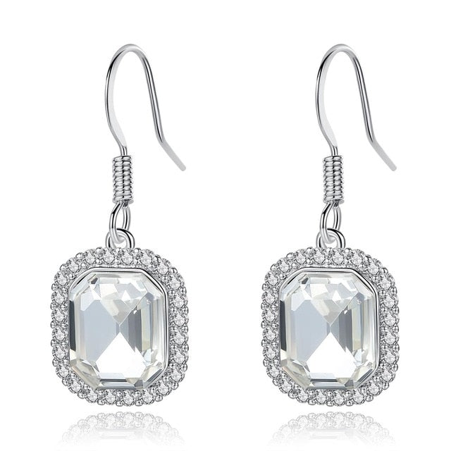 Wedding Earrings for Women AAA Cubic Zirconia Jewelry Best Gifts for Ladies