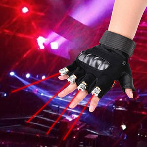 Multi Beam Laser Gloves