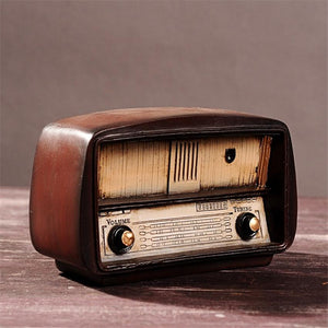 Vintage Radio Retro Craft for Home Decoration