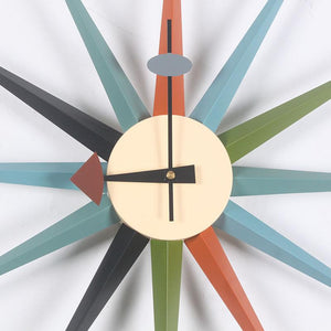 Sun/Light Wall Clock