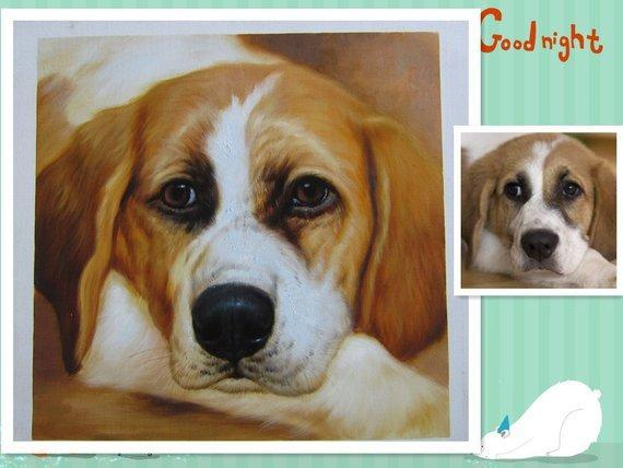 Personalized Oil Painting From Photos, handcraft art on Canvas-Show Case RSF101844-48