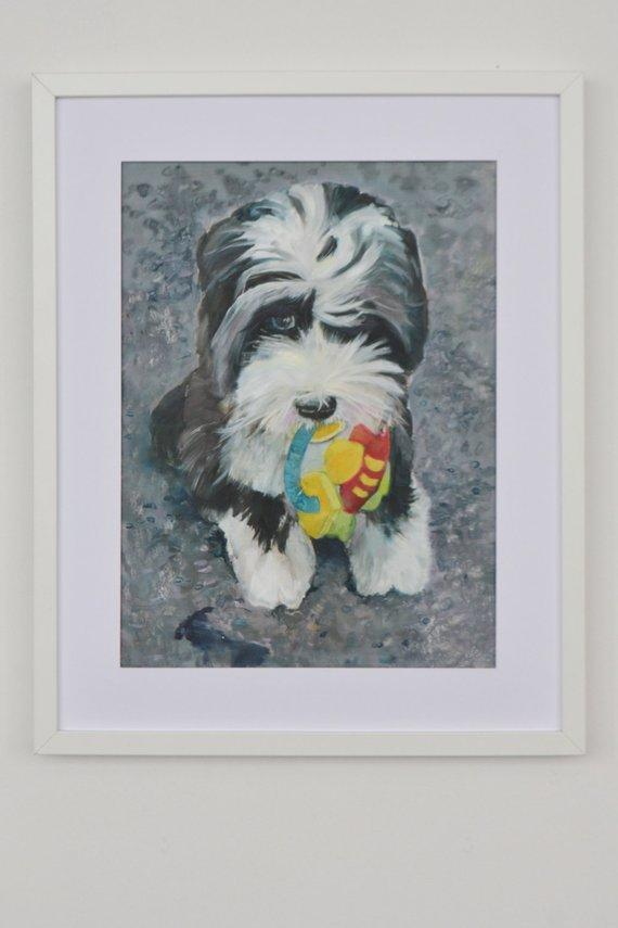 Personalized Oil Painting From Photos, handcraft art on Canvas-Show Case NED101220-36